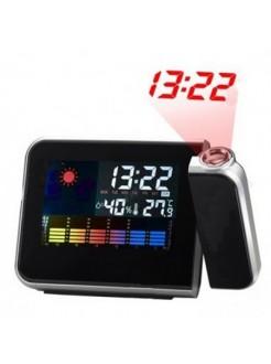 Часы-будильник с проектором времени
