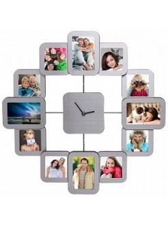 Настенные часы с фоторамками TimeArt