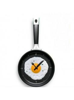 Часы Сковорода с яичницей