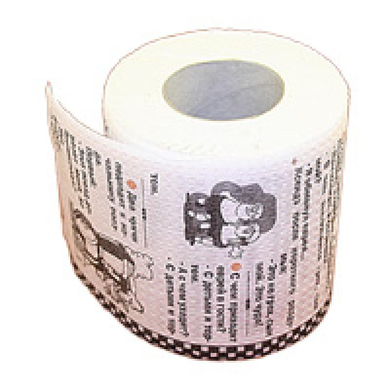 туалетная бумага с анекдотами где купить