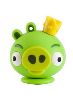 Флешка брелок Зеленый Свинокороль