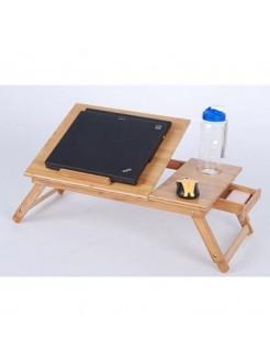 Столик для ноутбука бамбуковый
