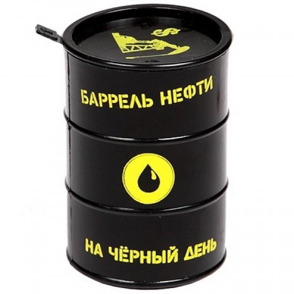 Сувенир антистресс  Баррель нефти