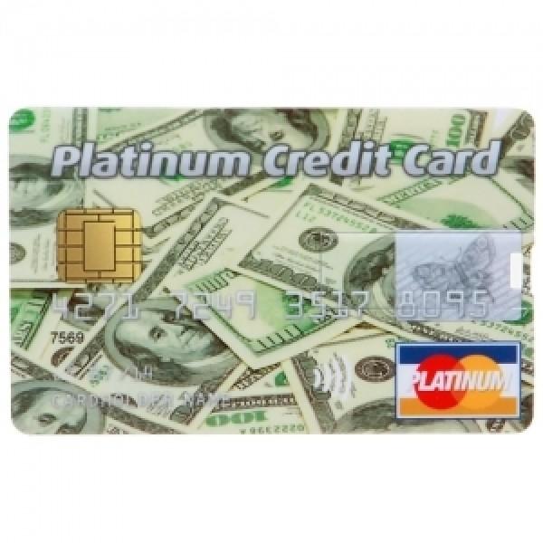 Флешка Кредитка 8 Гб