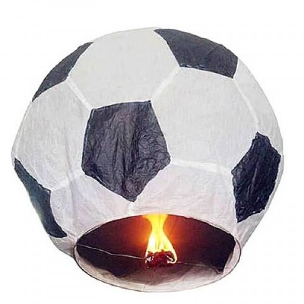 Небесный фонарик желаний футбольный мяч