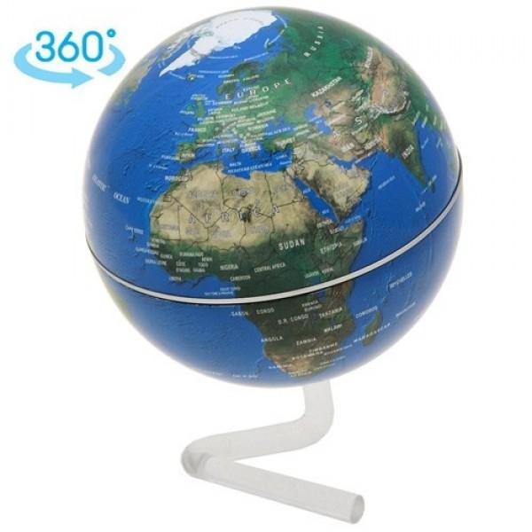 Вращающийся глобус на подставке