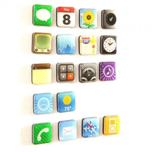 Набор магнитов Apple
