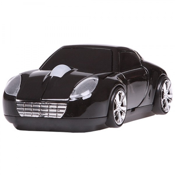 Мышь автомобиль черная