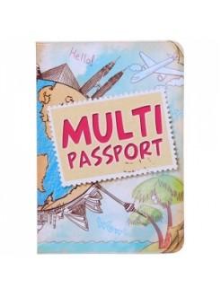 Обложка на загранпаспорт Multi