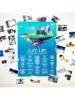 Плакат Truelife - 100 вещей в жизни, которые нужно сделать
