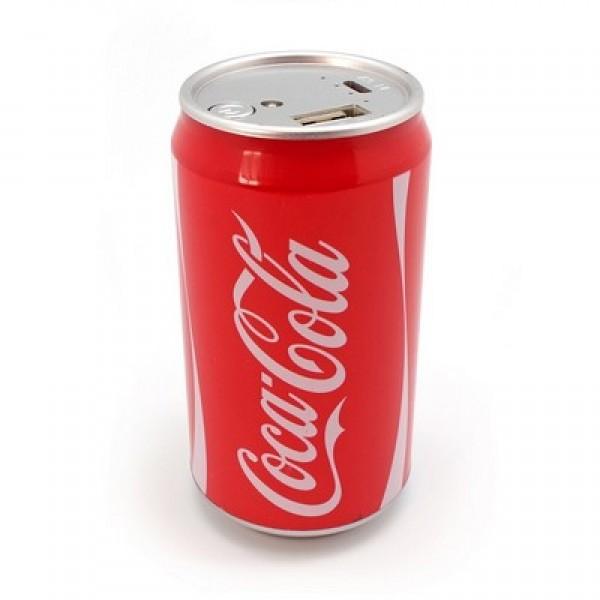 Портативный аккумулятор Power bank Coca-Cola