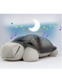Ночник проектор звездного неба Музыкальная черепаха