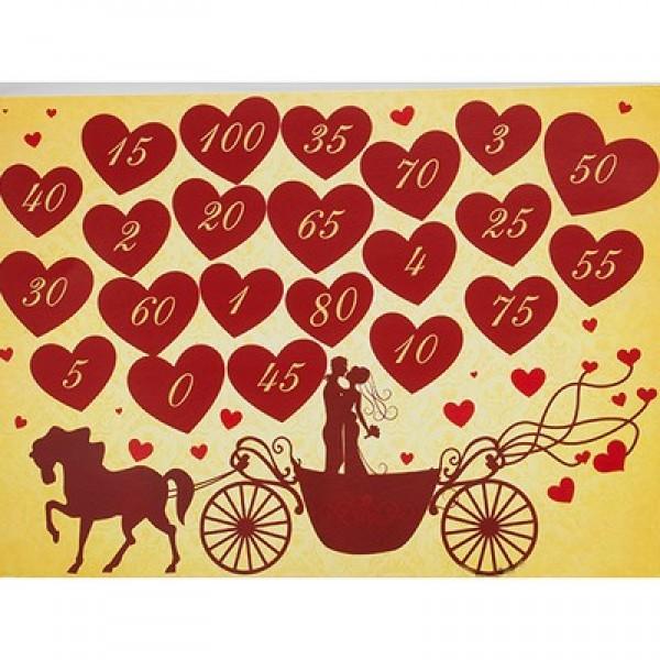 Стиральный свадебный календарь