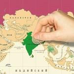 Стиральные карты Мира