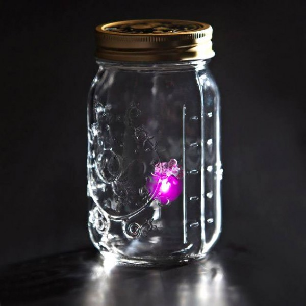 Электронный светлячок в банке