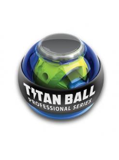 Кистевой тренажер Powerball Pro Blue со счетчиком и подсветкой