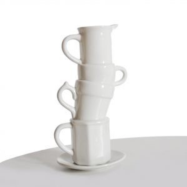 Ваза Стопка чашек (4 чашки)