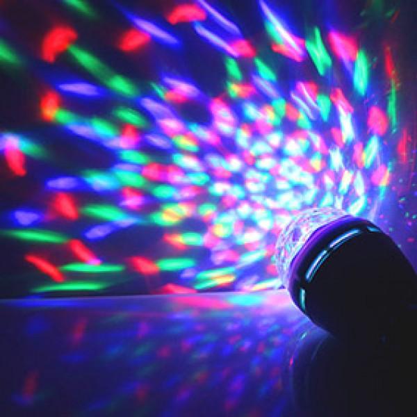 Вращающаяся лампа для вечеринок