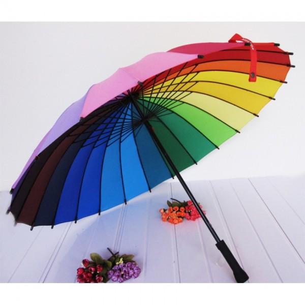 Зонт радуга (24 сегмента)