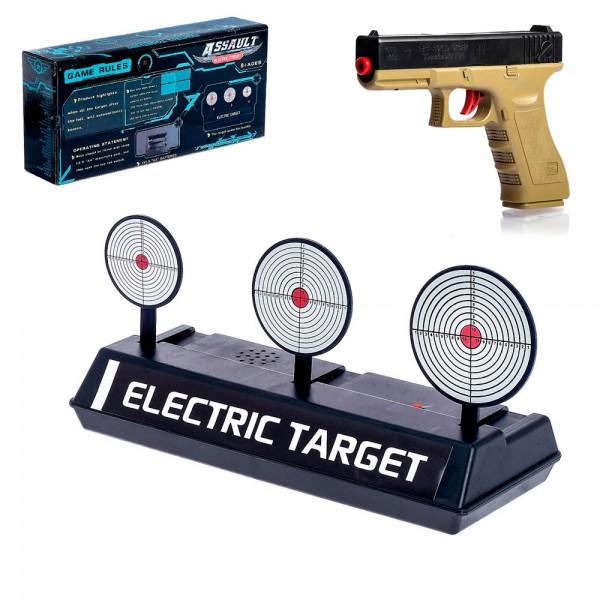 Тир Автоматические мишени с пистолетом