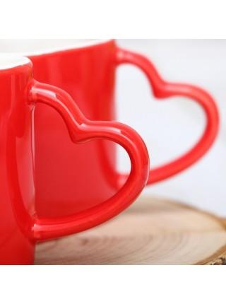 Набор кружек Влюбленные сердца