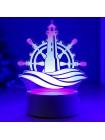 3D светильник Маяк