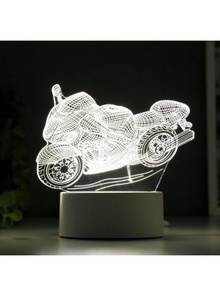 3D светильник Мотоцикл