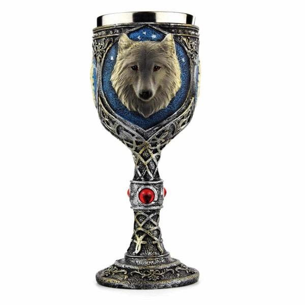 Бокал Рыцарский кубок с волком