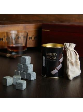 Камни для виски 9 шт. в тубусе