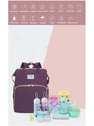 Рюкзак-органайзер для мам с кроваткой
