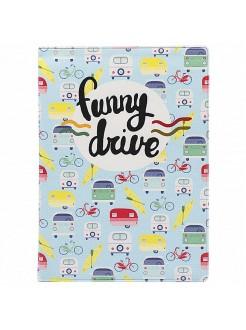 Обложка на автодокументы Funny drive