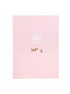 Ежедневник 365 розовый