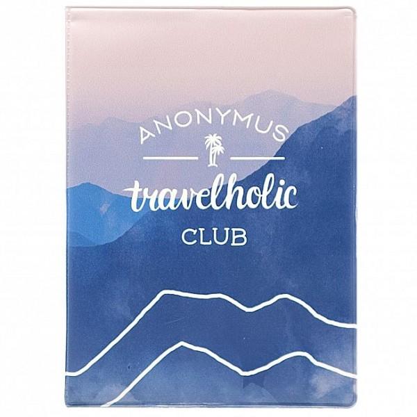 Обложка для паспорта Travelholic