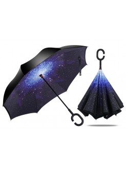 Зонт наоборот Звездное небо