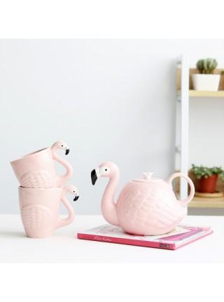 Чайный набор Фламинго