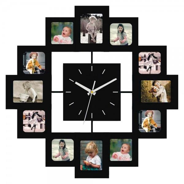 Часы с фоторамками Family
