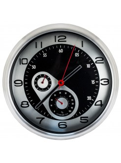 Настенные часы Спидометр с метеостанцией