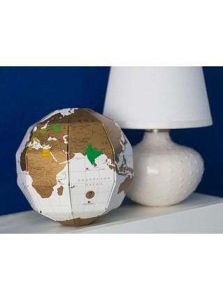 Глобус со скретч слоем TrueWorld (на русском)