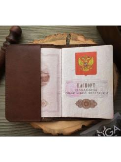 Обложка на паспорт Just (натуральная кожа)