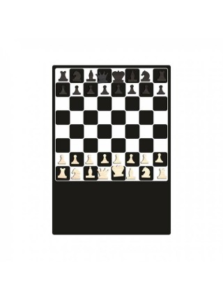 Магнитная доска на холодильник Шахматы