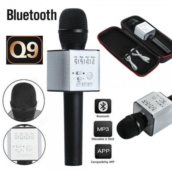 Караоке-микрофон Q9 беспроводной