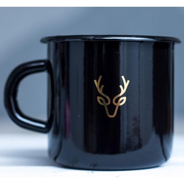 Кружка эмалированная Golden deer