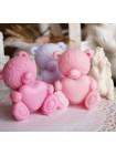Сувенирное мыло Мишка с сердцем