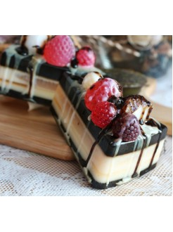 Handmade мыло Шоколадный торт