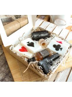 Набор handmade мыла Real men