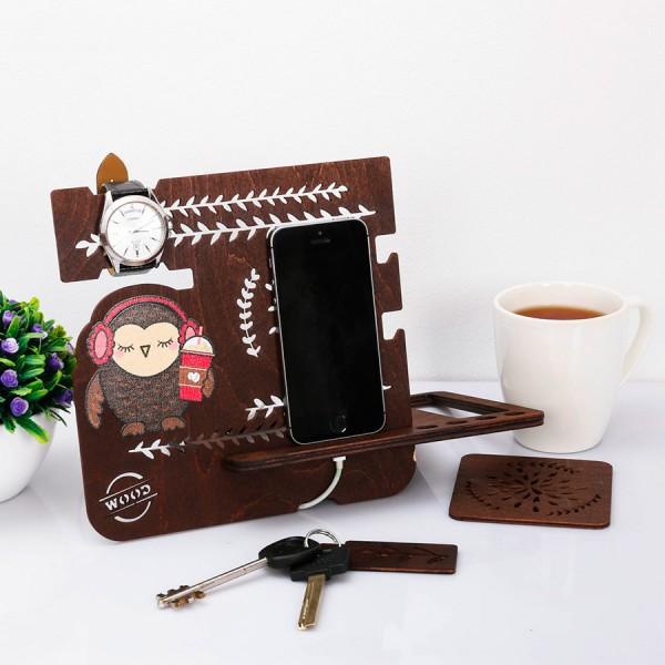 Настольный органайзер Owl