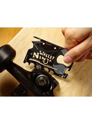 Мультитул 18 в 1 Wallet Ninja