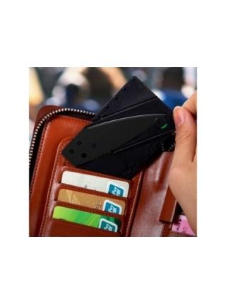 Складной нож кредитка