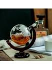 Стеклянный декантер Whiskey Globe