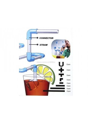 Трубочка-конструктор для напитков